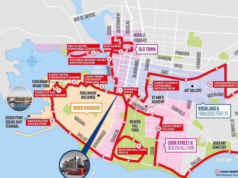 Hoho Route Map